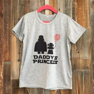 "Other - Girl's cute t-shirt ""Daddy's Princess"""